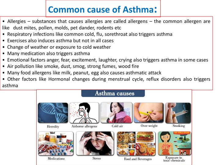 Common cause of Asthma