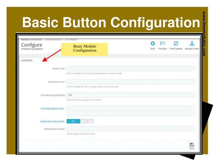 Basic Button Configuration