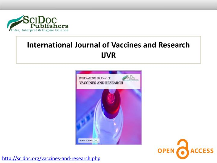 International Journal of Vaccines and Research