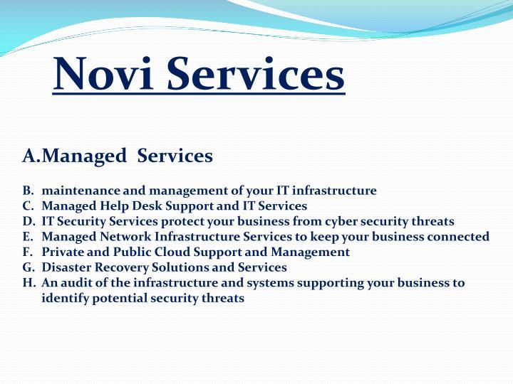 Novi Services