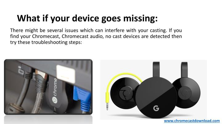 What if your device goes missing: