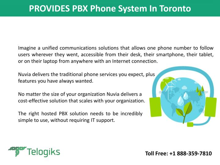 Provides pbx phone system in toronto