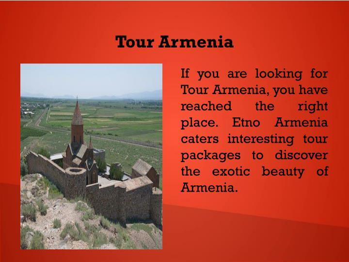 Tour Armenia