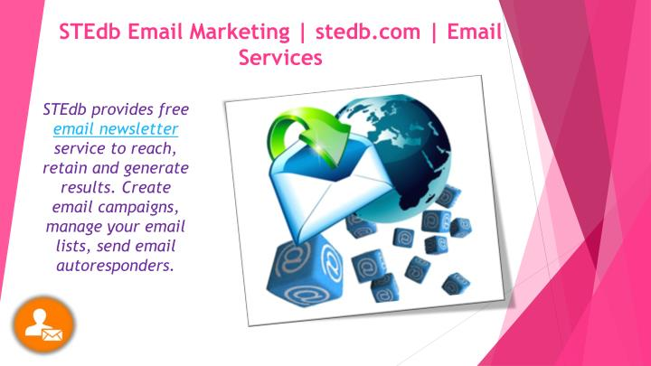 stedb email marketing stedb com email services