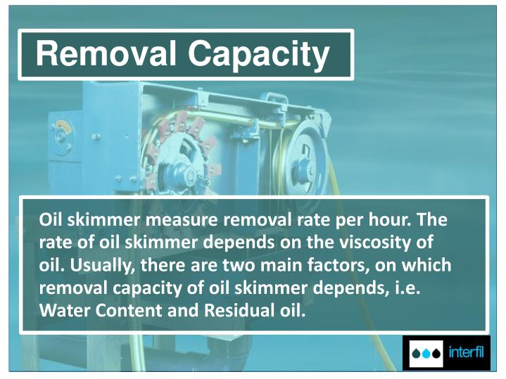 Removal Capacity