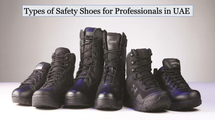 Types of Safety Shoes for Professionals in