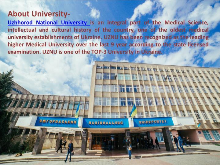 About University-