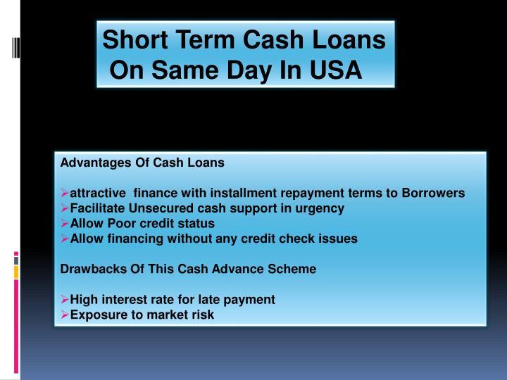 Short Term Cash