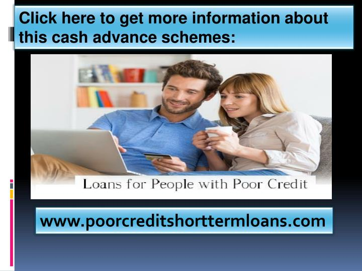 Click here to get more information about this cash advance schemes:
