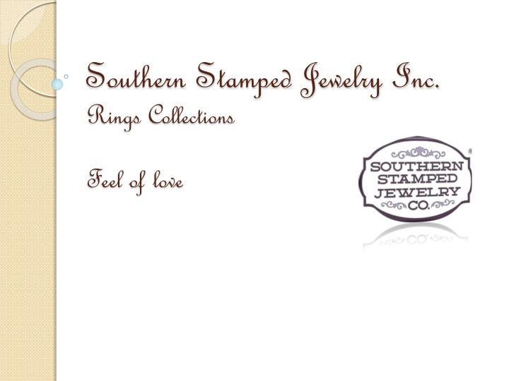 Southern stamped jewelry inc