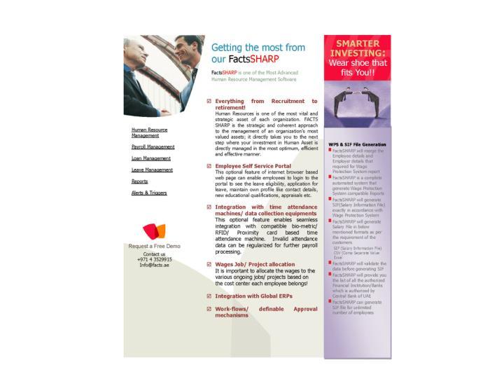 Factssharp brochure
