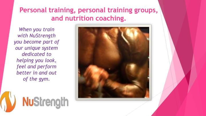 Personal training personal training groups and nutrition coaching2