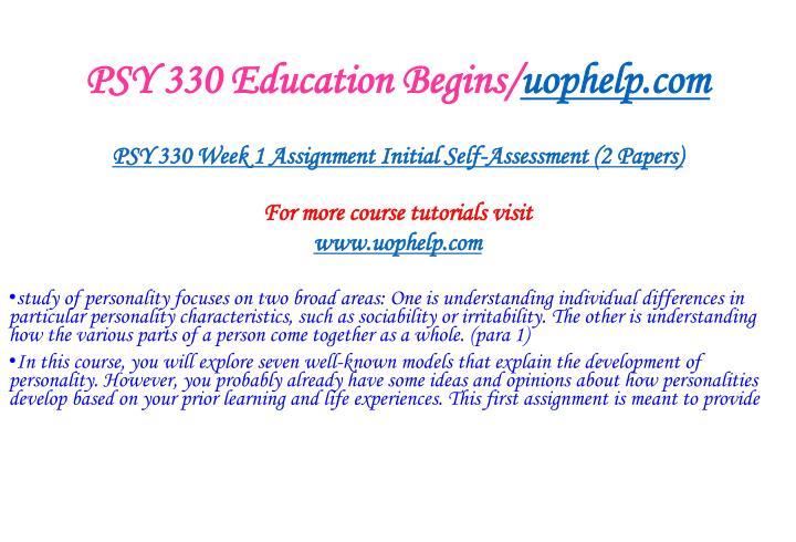 Psy 330 education begins uophelp com2