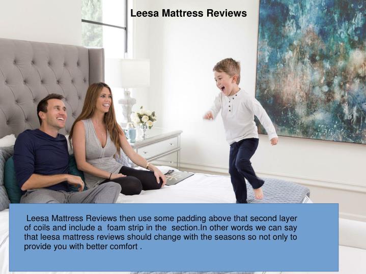 Leesa Mattress Reviews