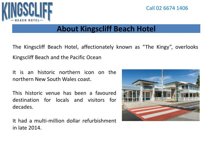 About kingscliff beach hotel