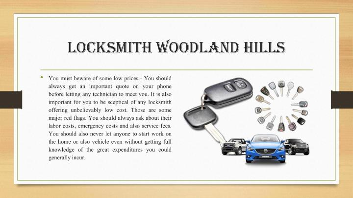 Locksmith Woodland Hills