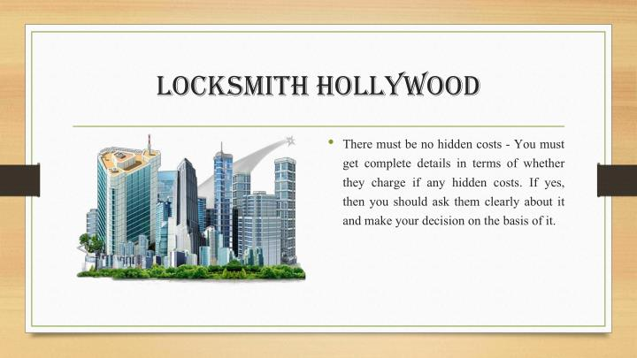 Locksmith Hollywood