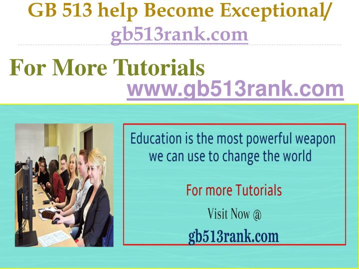 Gb 513 help become exceptional gb513rank com