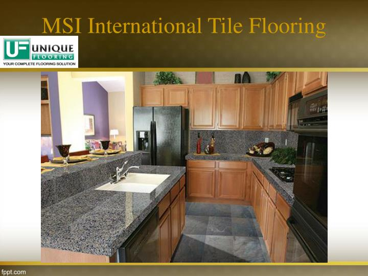 MSI International Tile Flooring