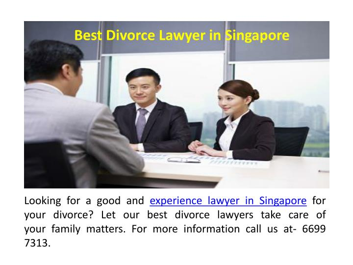 Best Divorce Lawyer in Singapore