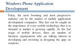 windows phone application development