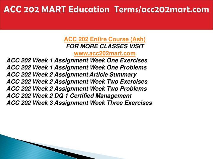 Acc 202 mart education terms acc202mart com1