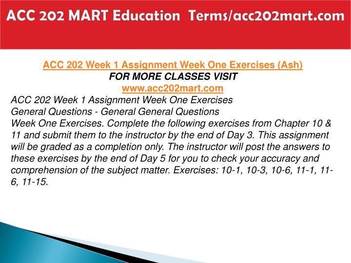 Acc 202 mart education terms acc202mart com2