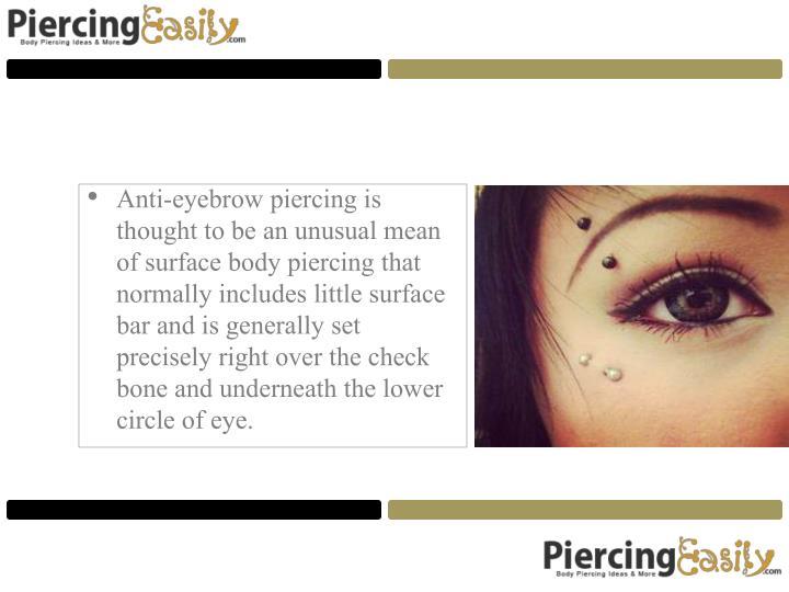 Anti-eyebrow