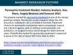 paronychia treatment market industry analysis size share supply revenue and forecast 2022