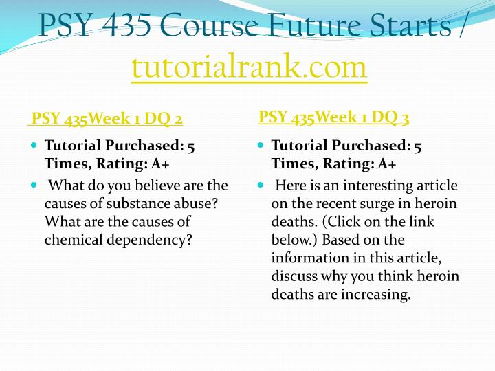 Psy 435 course future starts tutorialrank com2
