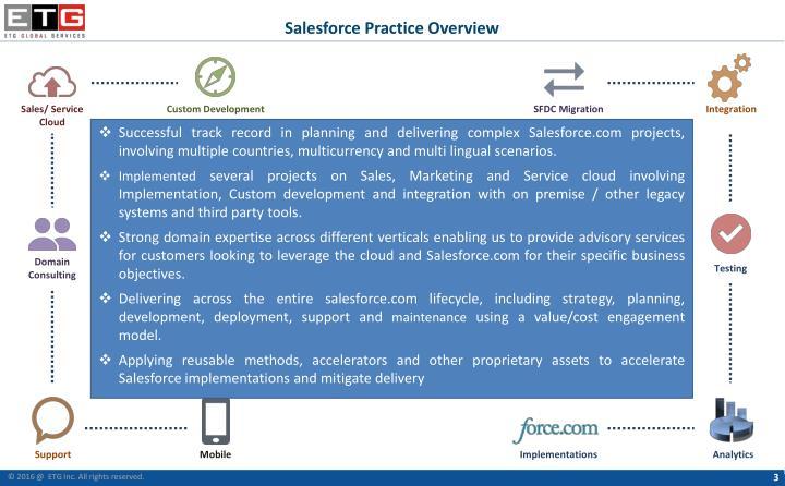Salesforce Practice Overview
