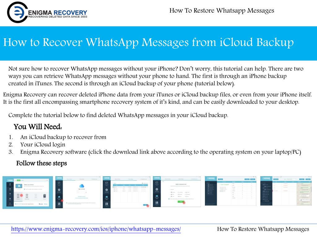 PPT - How To Restore Whatsapp Messages PowerPoint