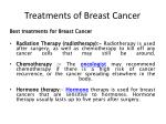 treatments of breast cancer