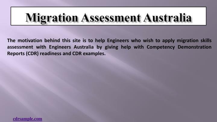 Migration assessment australia