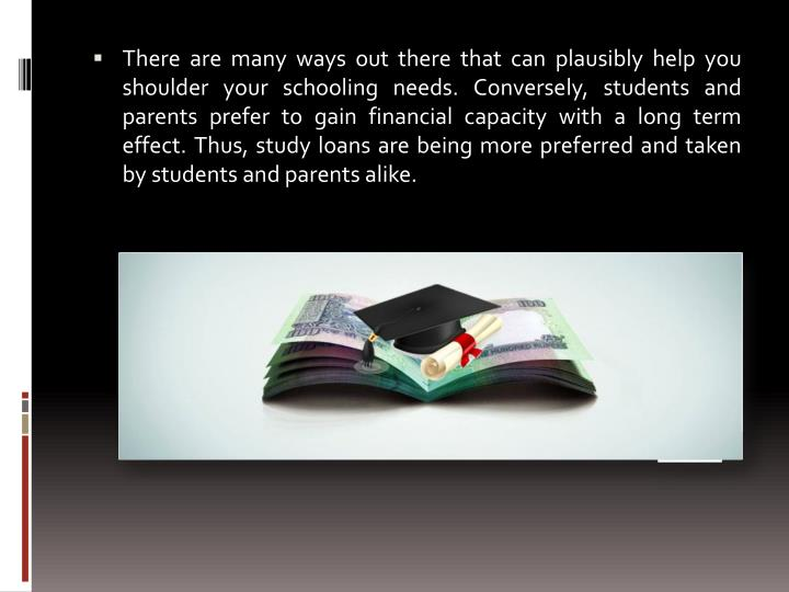 There are many ways out there that can plausibly help you shoulder your schooling needs. Conversely,...