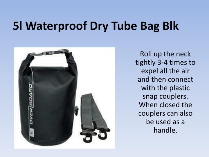 5l Waterproof Dry Tube Bag