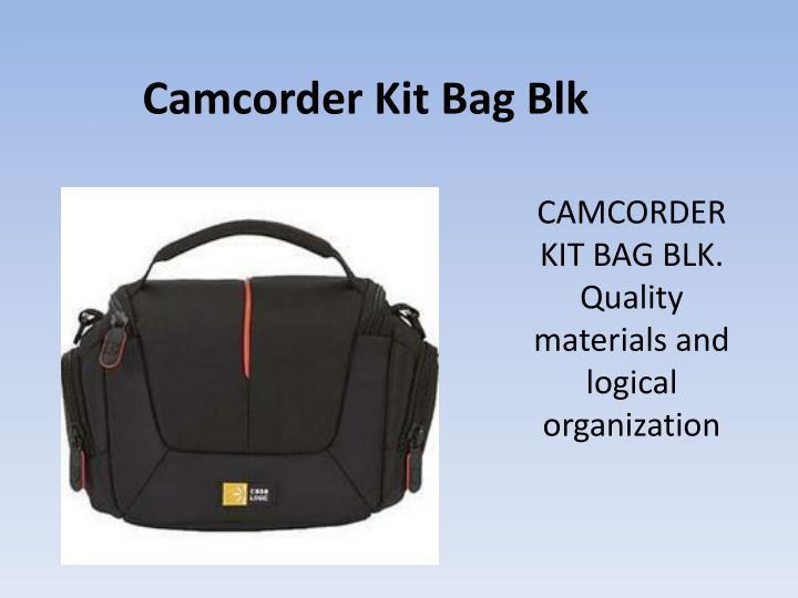 Camcorder Kit Bag