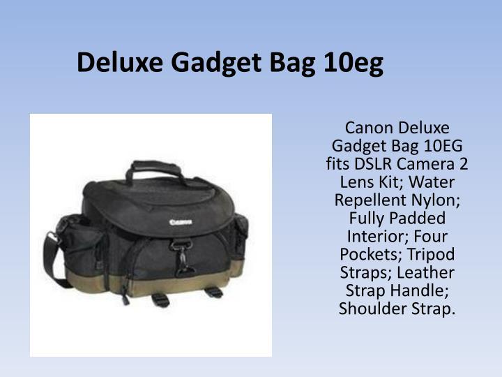 Deluxe Gadget Bag 10eg