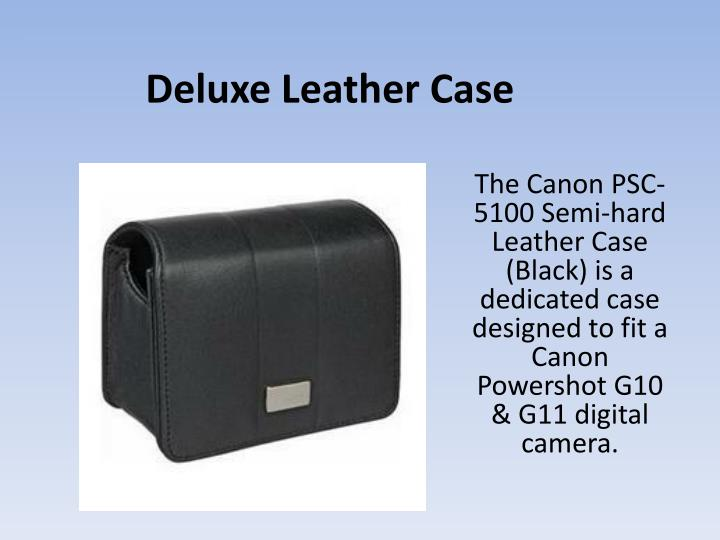 Deluxe Leather Case