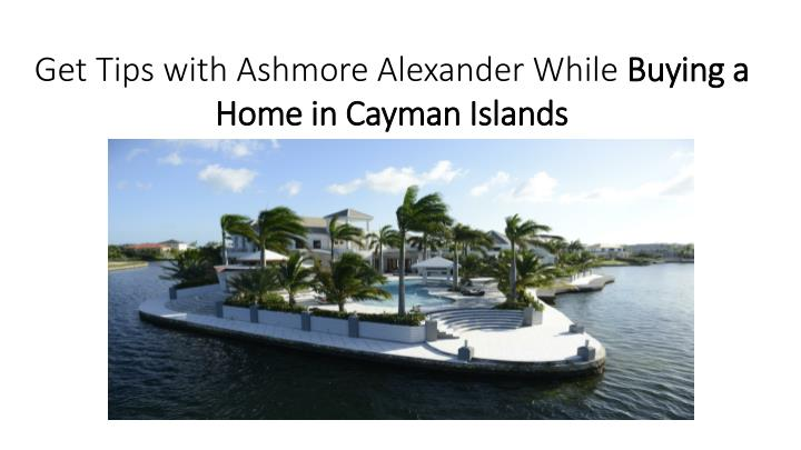 Get Tips with Ashmore Alexander While