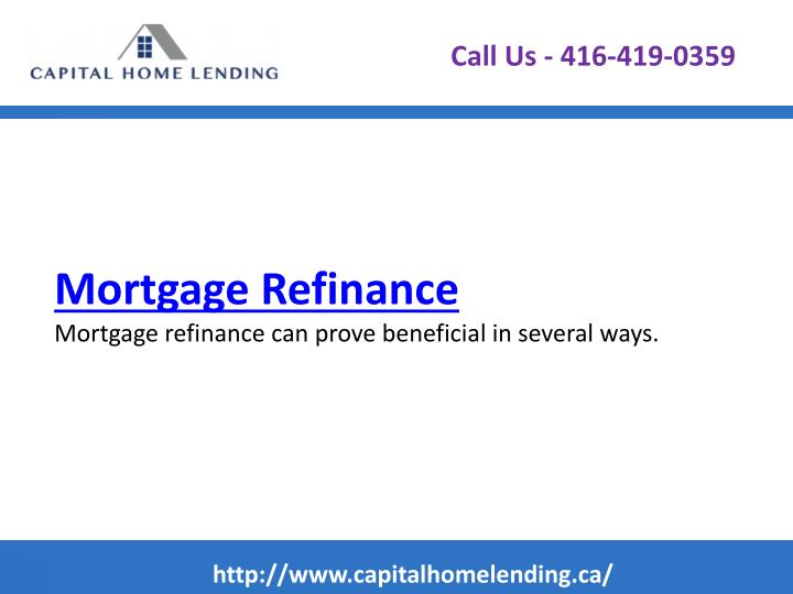 Mortgage refinance mortgage refinance can prove beneficial in several ways
