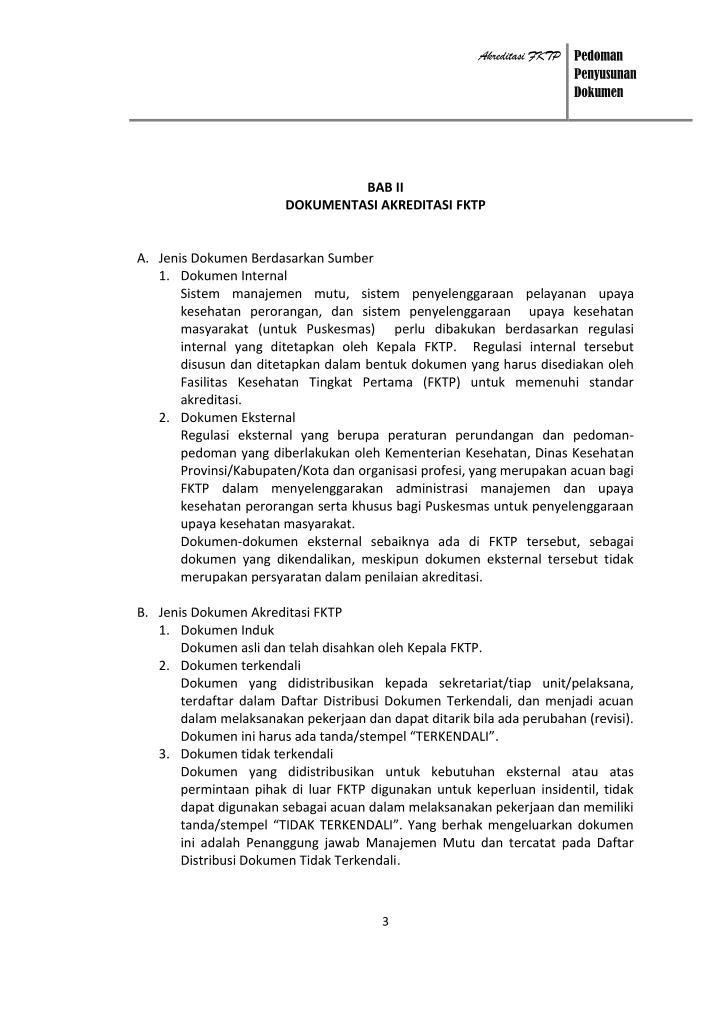 Akreditasi FKTP