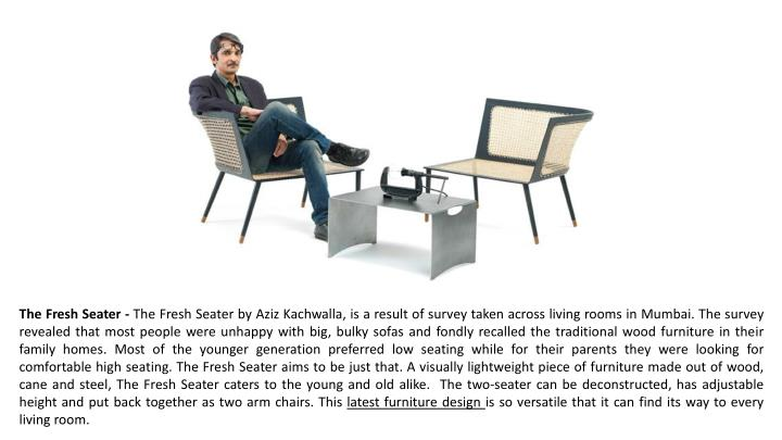 The Fresh Seater -