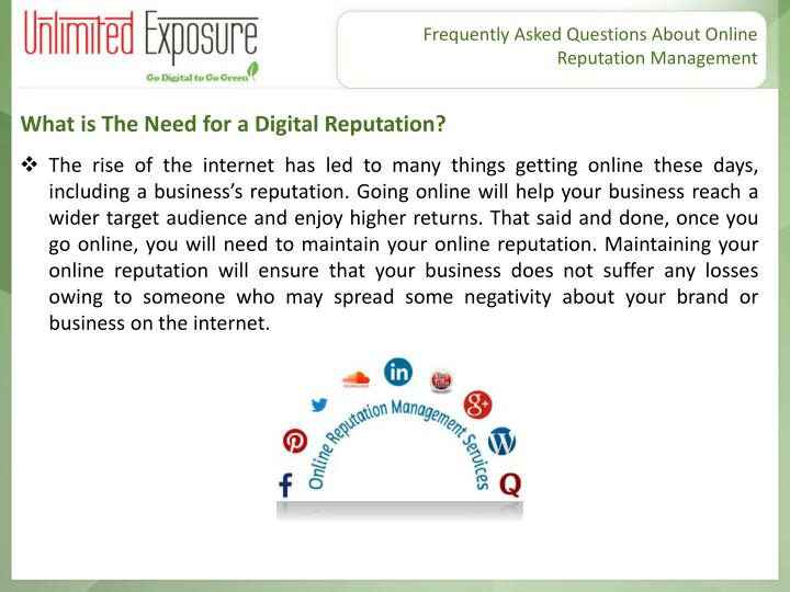 What is The Need for a Digital Reputation?