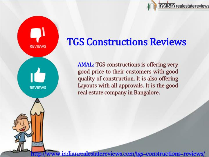 TGS Constructions Reviews