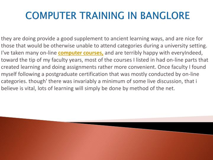 Computer training in banglore2