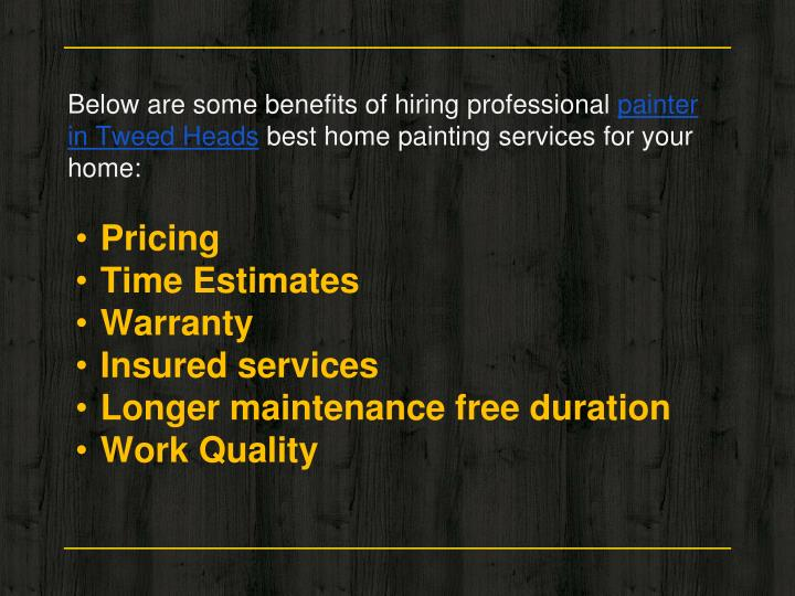 Below are some benefits of hiring