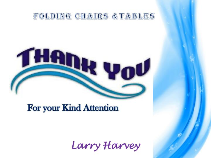 Folding Chairs &Tables