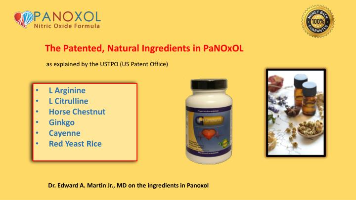 The Patented, Natural Ingredients in PaNOxOL