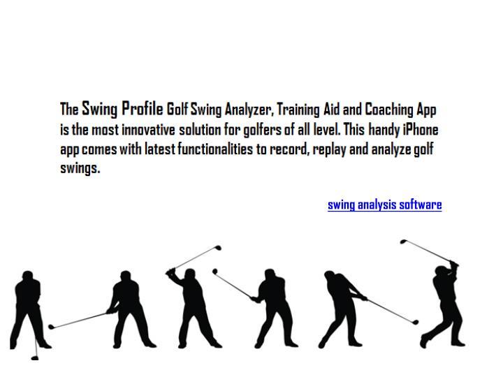 Swing analysis software